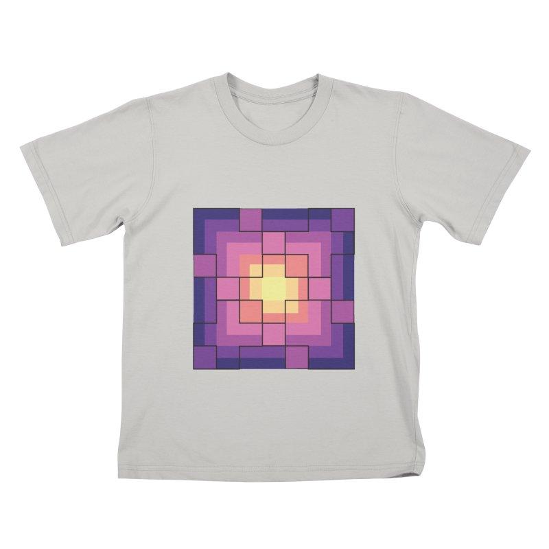 color blocks! Kids T-shirt by Pnkflpflps's Artist Shop
