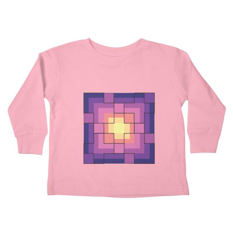 color blocks! Kids Toddler Longsleeve T-Shirt by Pnkflpflps's Artist Shop