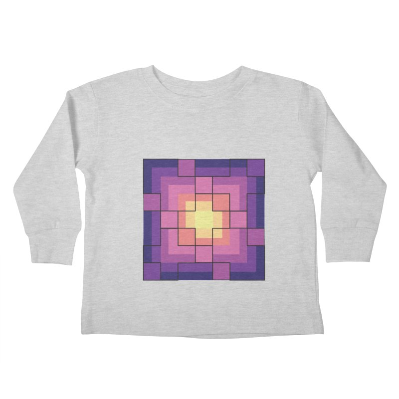 color blocks! Kids Toddler Longsleeve T-Shirt by Pnkflpflps's Artist Shop
