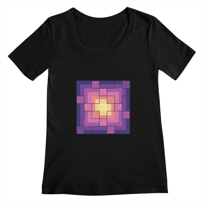 color blocks! Women's Scoopneck by Pnkflpflps's Artist Shop