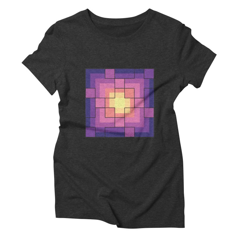 color blocks! Women's Triblend T-Shirt by Pnkflpflps's Artist Shop