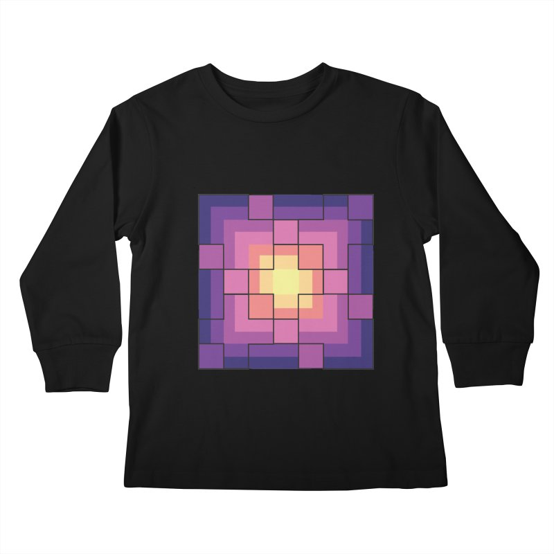 color blocks! Kids Longsleeve T-Shirt by Pnkflpflps's Artist Shop