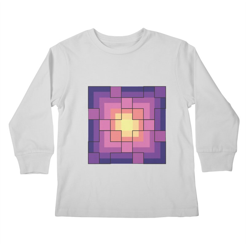 color blocks! Kids Longsleeve T-Shirt by Pnkflpflps's Artist Shop