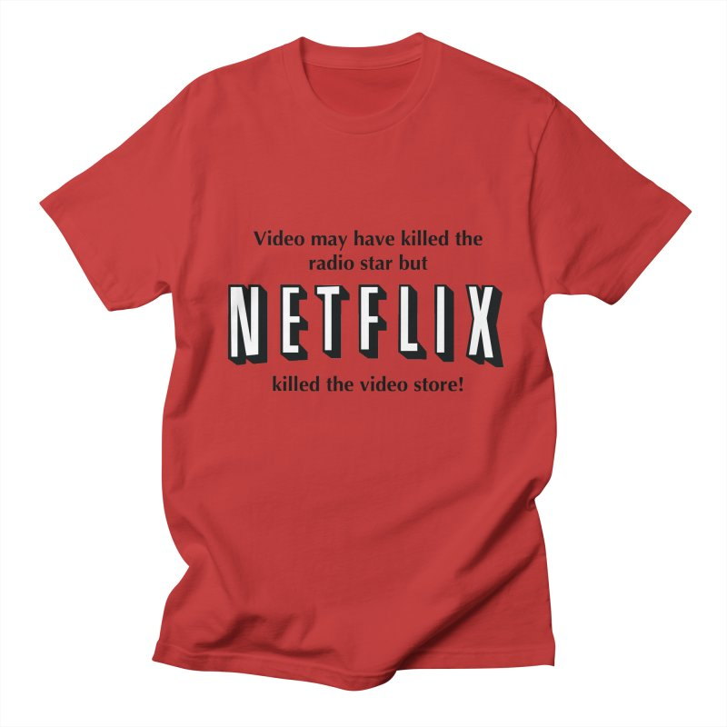 Netflix Murder Men's T-shirt by Pnkflpflps's Artist Shop