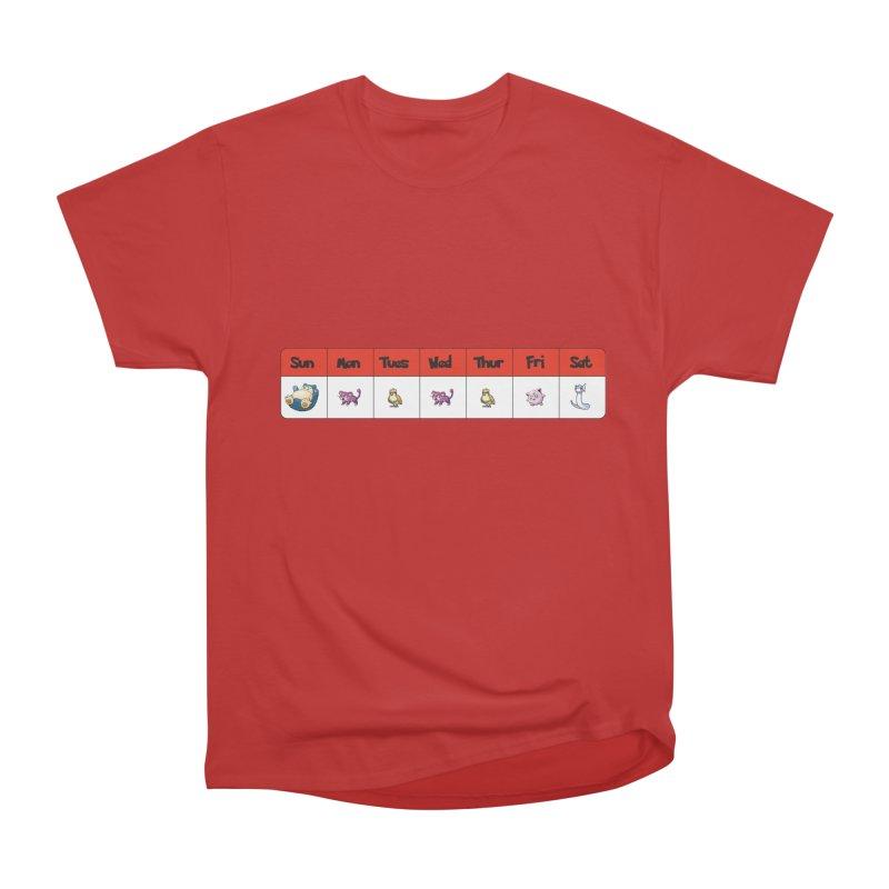 Days of the week Men's Heavyweight T-Shirt by Pnkflpflps's Artist Shop