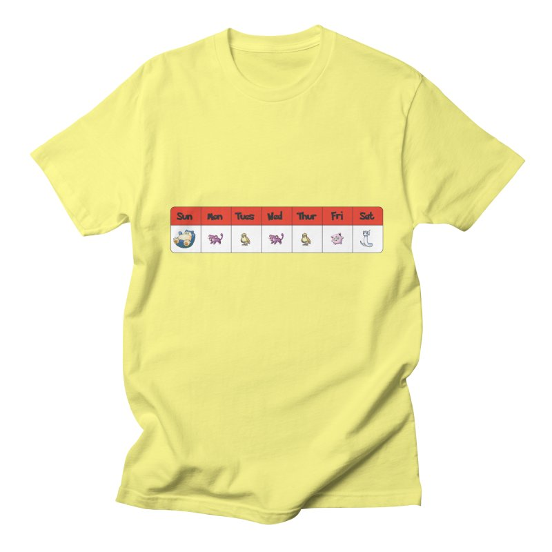 Days of the week Men's T-Shirt by Pnkflpflps's Artist Shop
