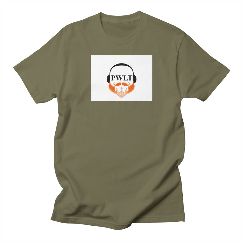 PWLT Men's Regular T-Shirt by Podcasts We Listen To