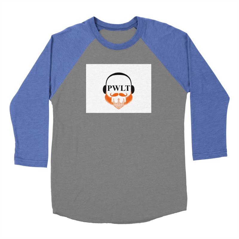 PWLT Men's Baseball Triblend Longsleeve T-Shirt by Podcasts We Listen To