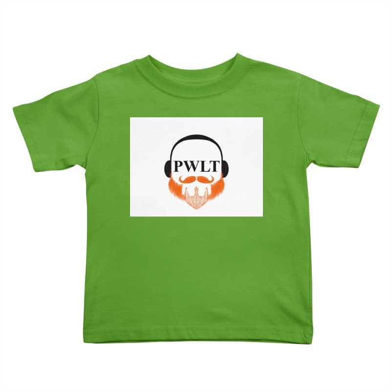 PWLT Kids Toddler T-Shirt by Podcasts We Listen To