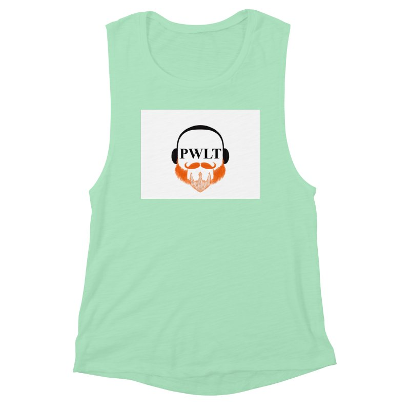 PWLT Women's Muscle Tank by Podcasts We Listen To