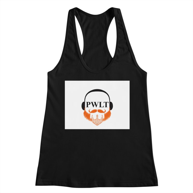 PWLT Women's Racerback Tank by Podcasts We Listen To