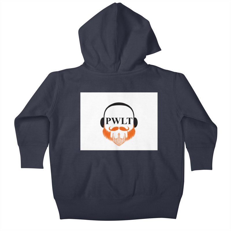 PWLT Kids Baby Zip-Up Hoody by Podcasts We Listen To