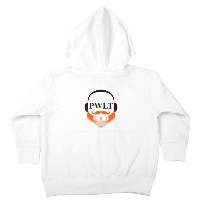 PWLT Kids Toddler Zip-Up Hoody by Podcasts We Listen To