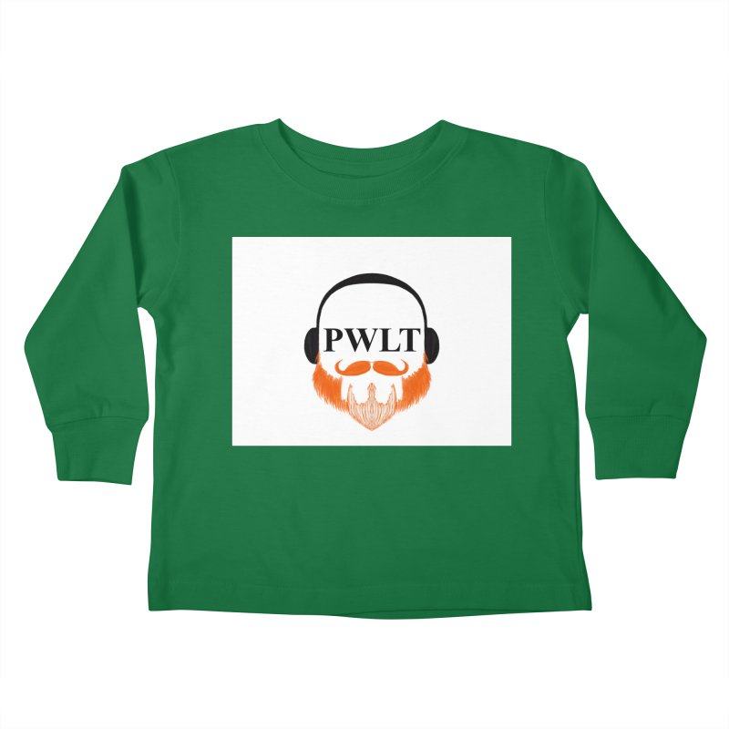 PWLT Kids Toddler Longsleeve T-Shirt by Podcasts We Listen To