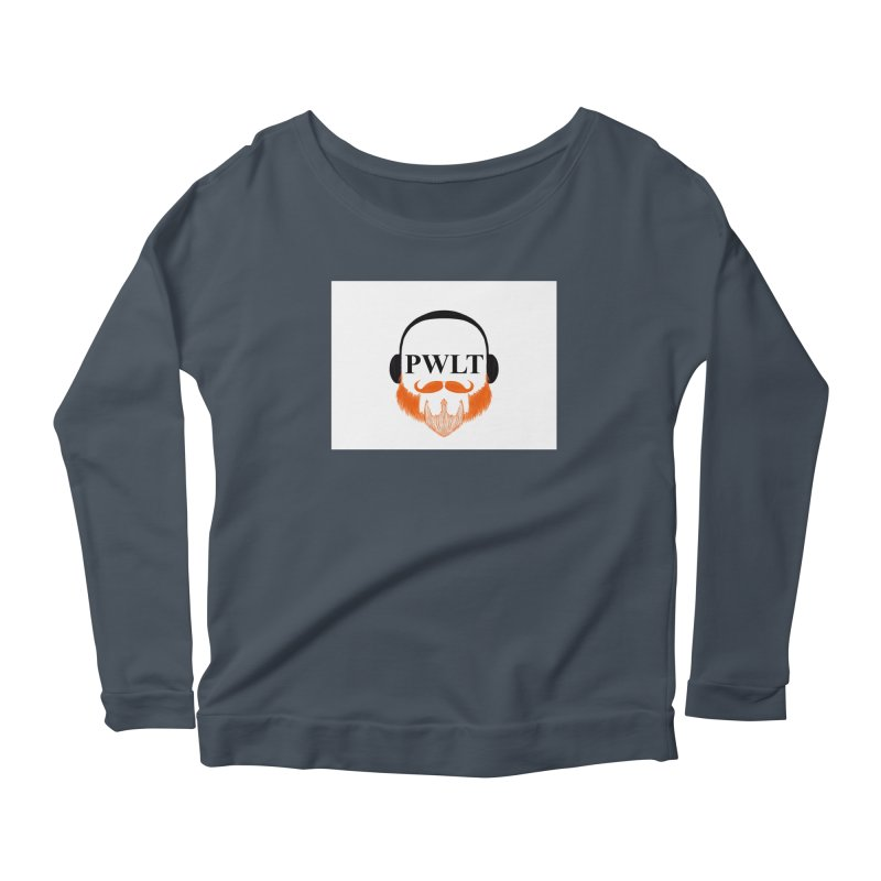 PWLT Women's Scoop Neck Longsleeve T-Shirt by Podcasts We Listen To