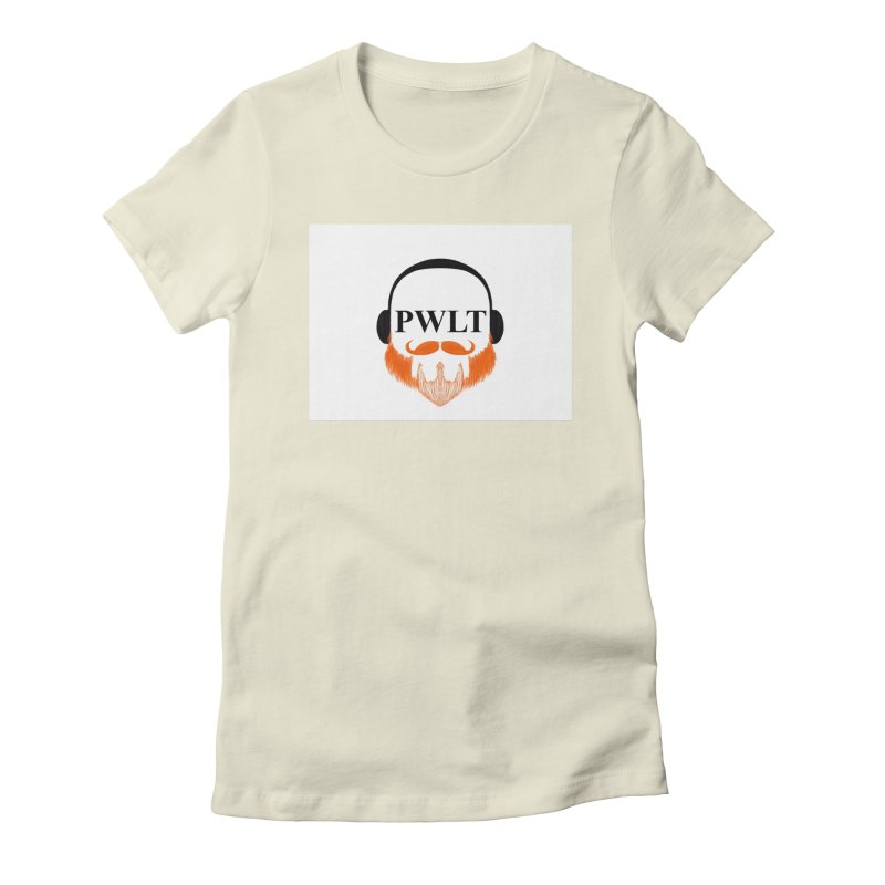 PWLT Women's Fitted T-Shirt by Podcasts We Listen To