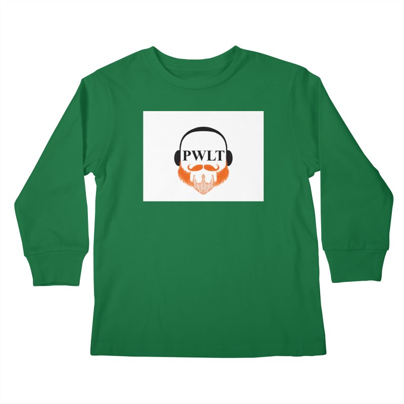 PWLT Kids Longsleeve T-Shirt by Podcasts We Listen To