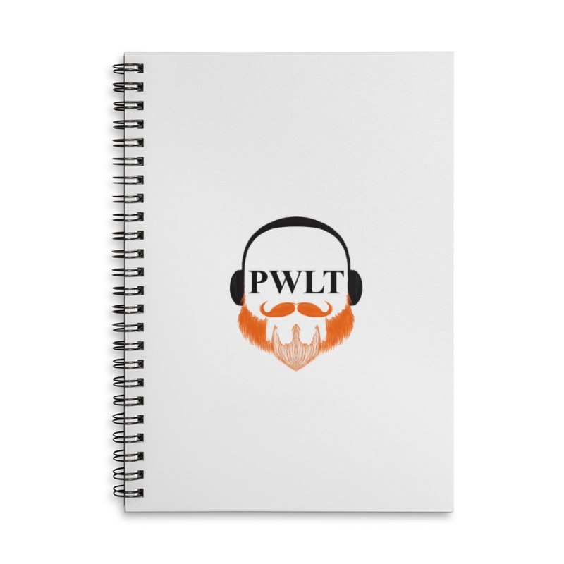 PWLT Accessories Lined Spiral Notebook by Podcasts We Listen To