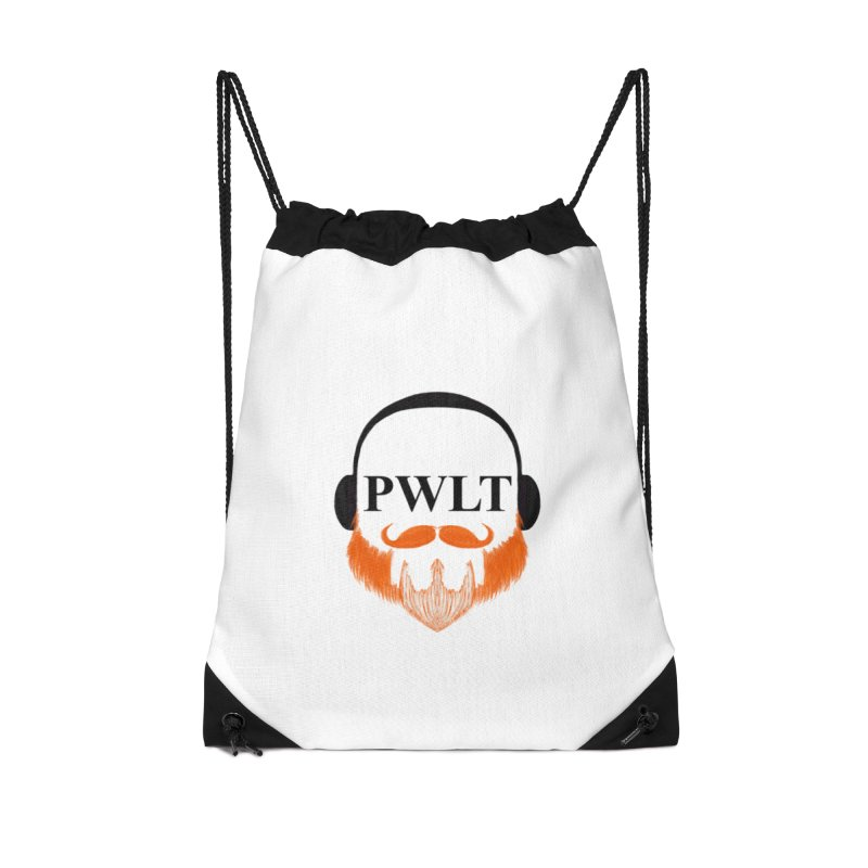 PWLT Accessories Drawstring Bag Bag by Podcasts We Listen To