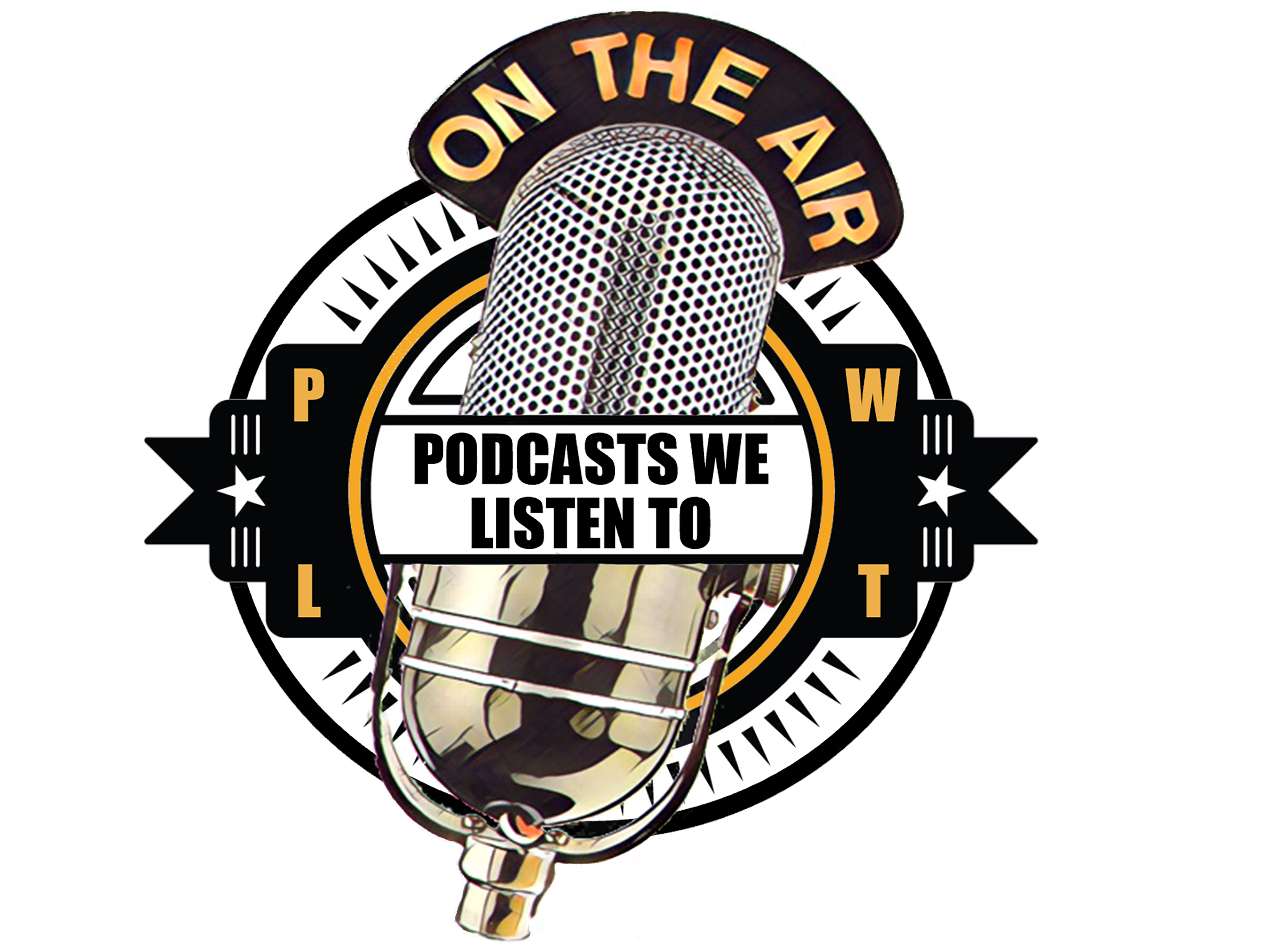 Podcasts We Listen To Logo
