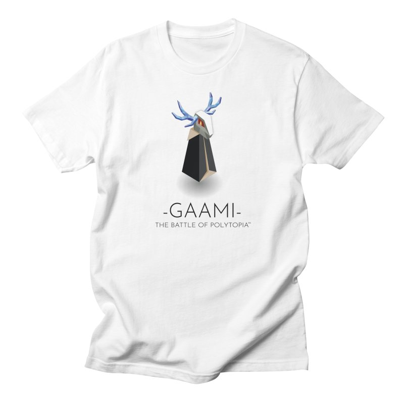 GAAMI TEE in Men's Regular T-Shirt White by Polytopia shop of souvenirs