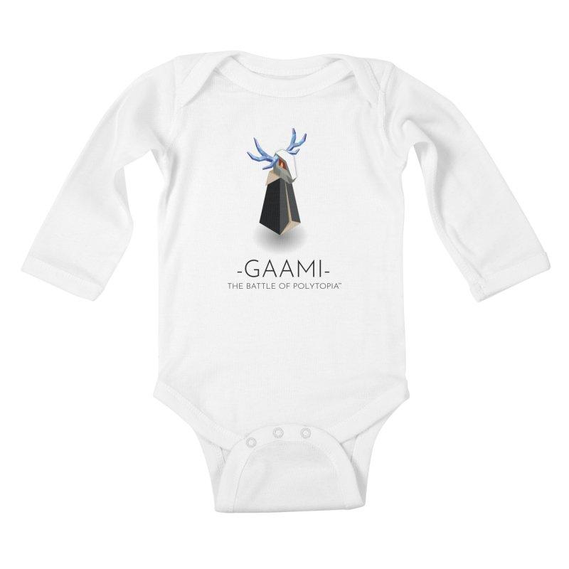 GAAMI TEE Kids Baby Longsleeve Bodysuit by Polytopia shop of souvenirs