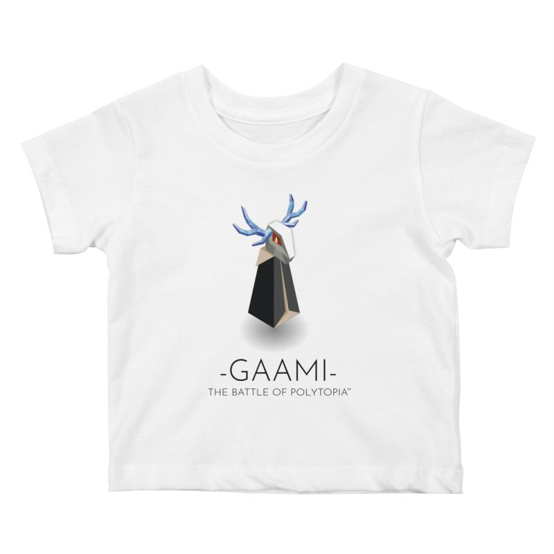GAAMI TEE Kids Baby T-Shirt by Polytopia shop of souvenirs