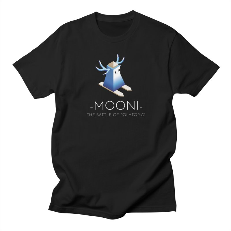 MOONI TEE Men's Regular T-Shirt by Polytopia shop of souvenirs