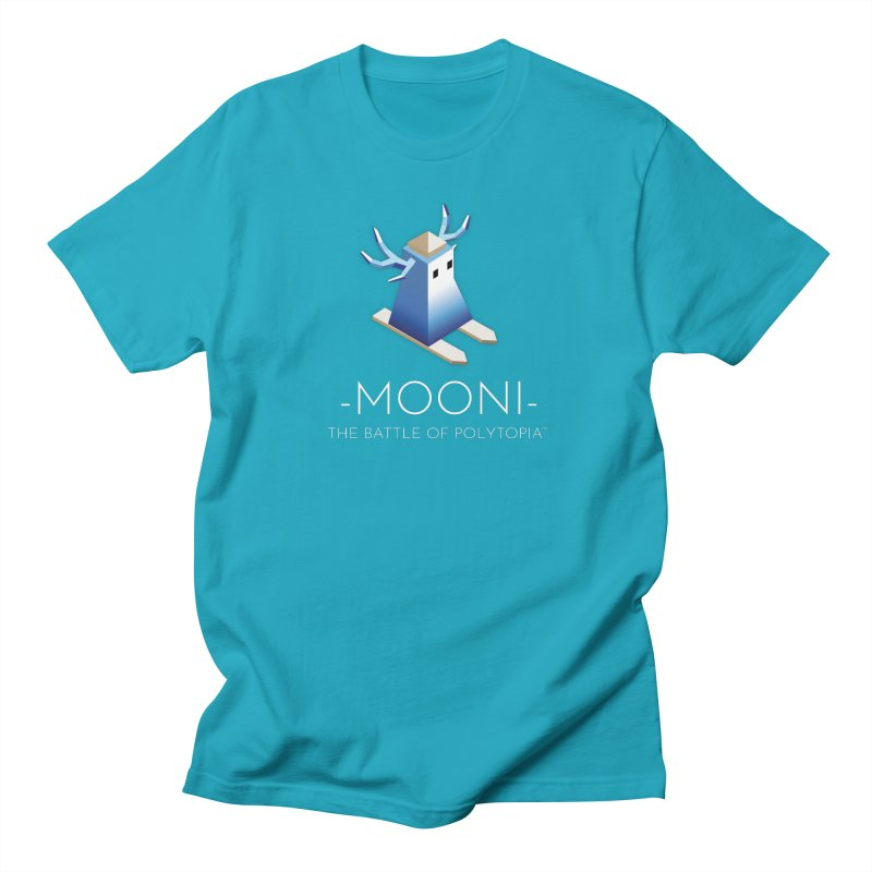 MOONI TEE Women's Regular Unisex T-Shirt by Polytopia shop of souvenirs
