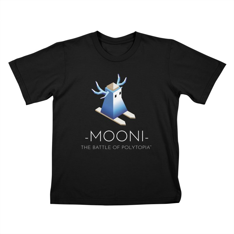 MOONI TEE Kids T-Shirt by Polytopia shop of souvenirs