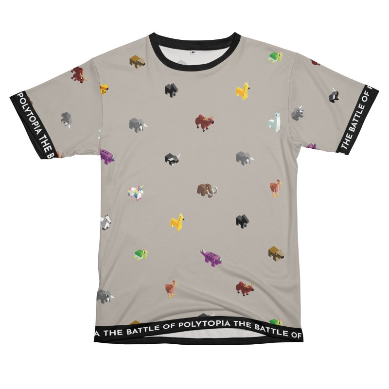 FAUNA TEE Women's Unisex T-Shirt Cut & Sew by Polytopia shop of souvenirs