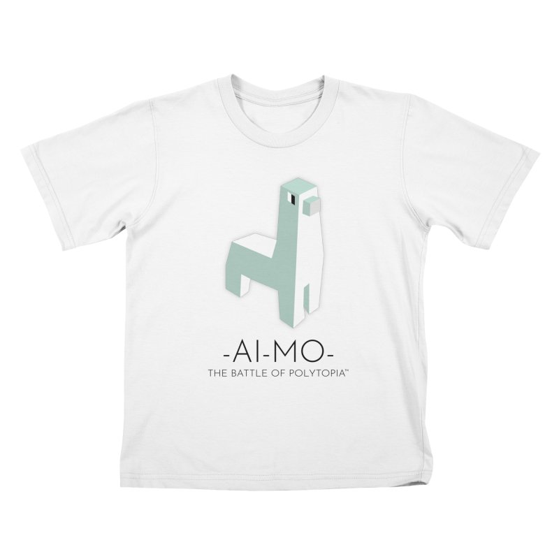 AI MO TEE Kids T-Shirt by Polytopia shop of souvenirs