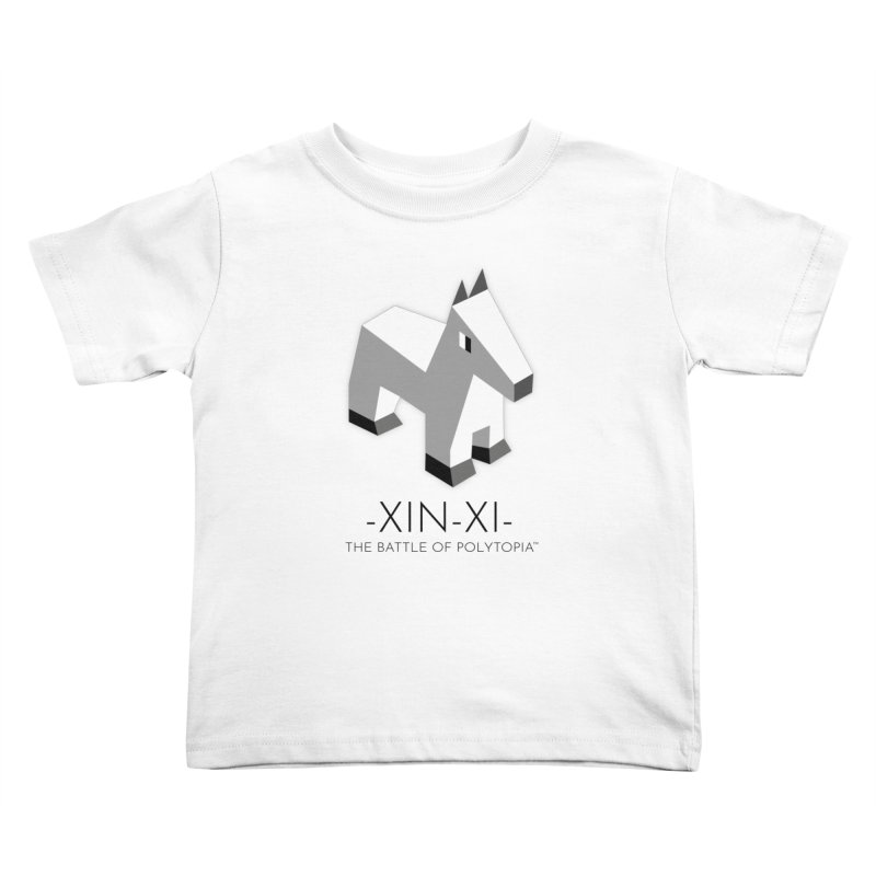 XIN-XI TEE Kids Toddler T-Shirt by Polytopia shop of souvenirs
