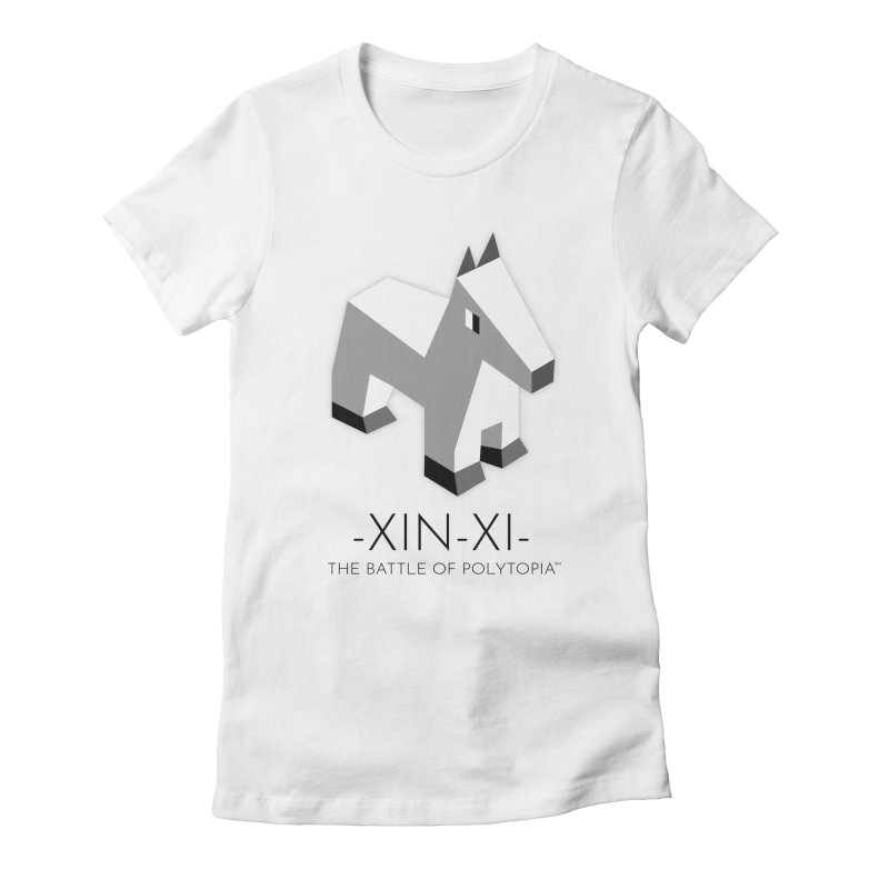 XIN-XI TEE Women's Fitted T-Shirt by Polytopia shop of souvenirs