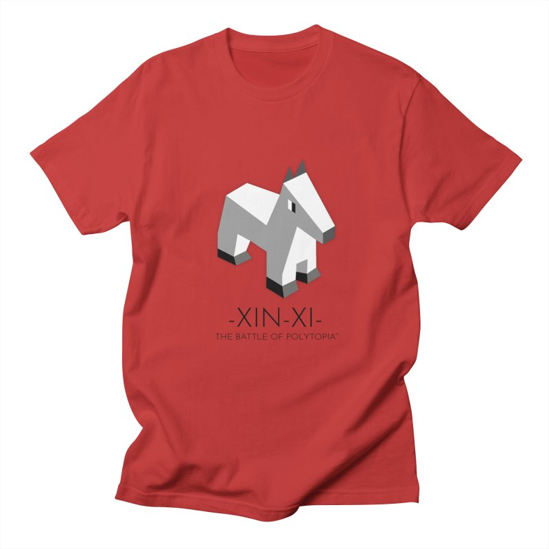 XIN-XI TEE in Men's Regular T-Shirt Red by Polytopia shop of souvenirs