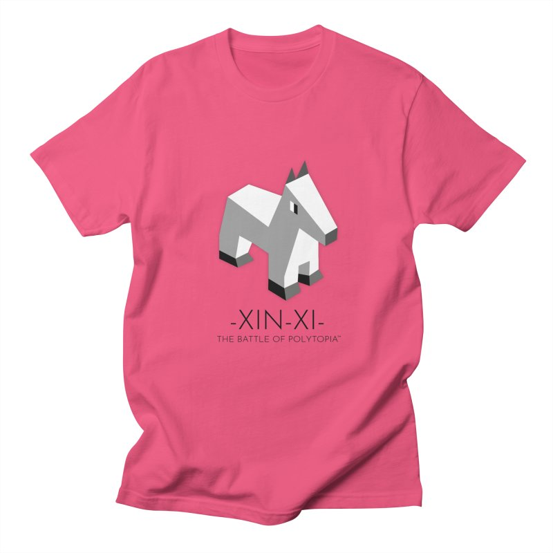 XIN-XI TEE in Men's Regular T-Shirt Fuchsia by Polytopia shop of souvenirs