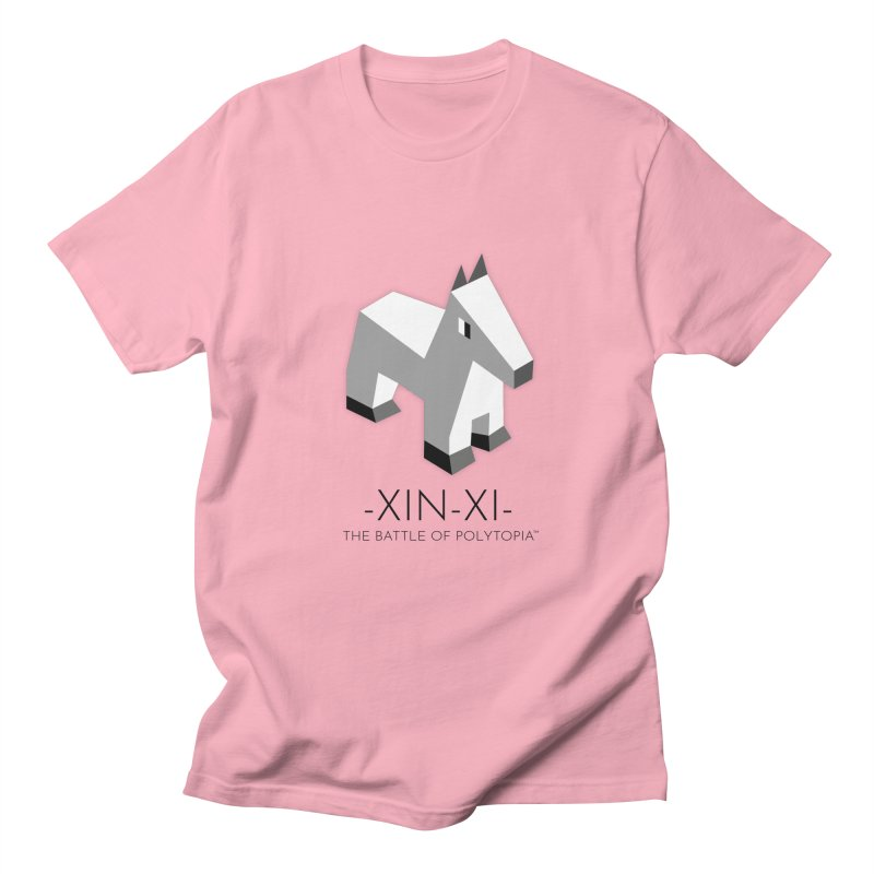 XIN-XI TEE in Men's Regular T-Shirt Light Pink by Polytopia shop of souvenirs