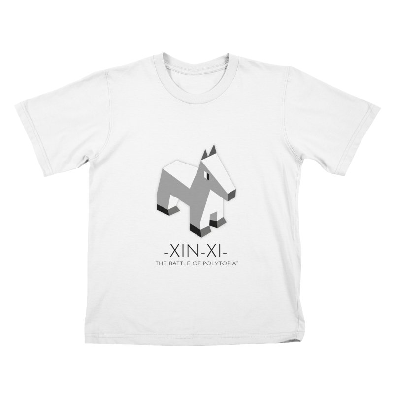 XIN-XI TEE Kids T-Shirt by Polytopia shop of souvenirs
