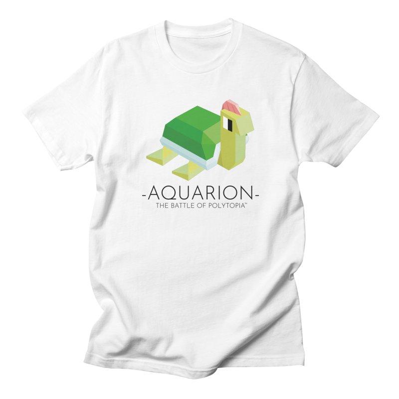 AQUARION TEE Men's Regular T-Shirt by Polytopia shop of souvenirs