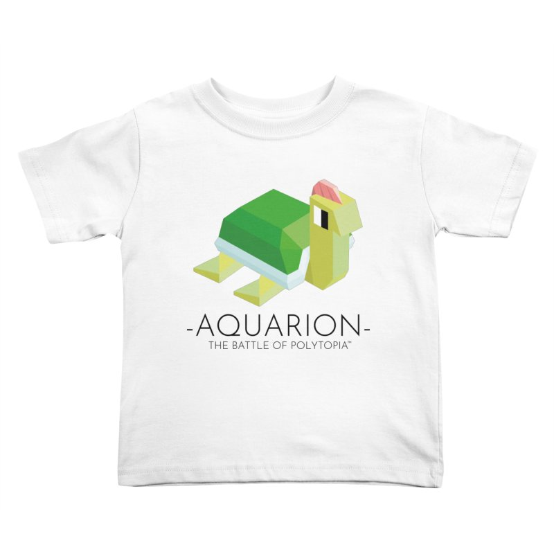 AQUARION TEE Kids Toddler T-Shirt by Polytopia shop of souvenirs