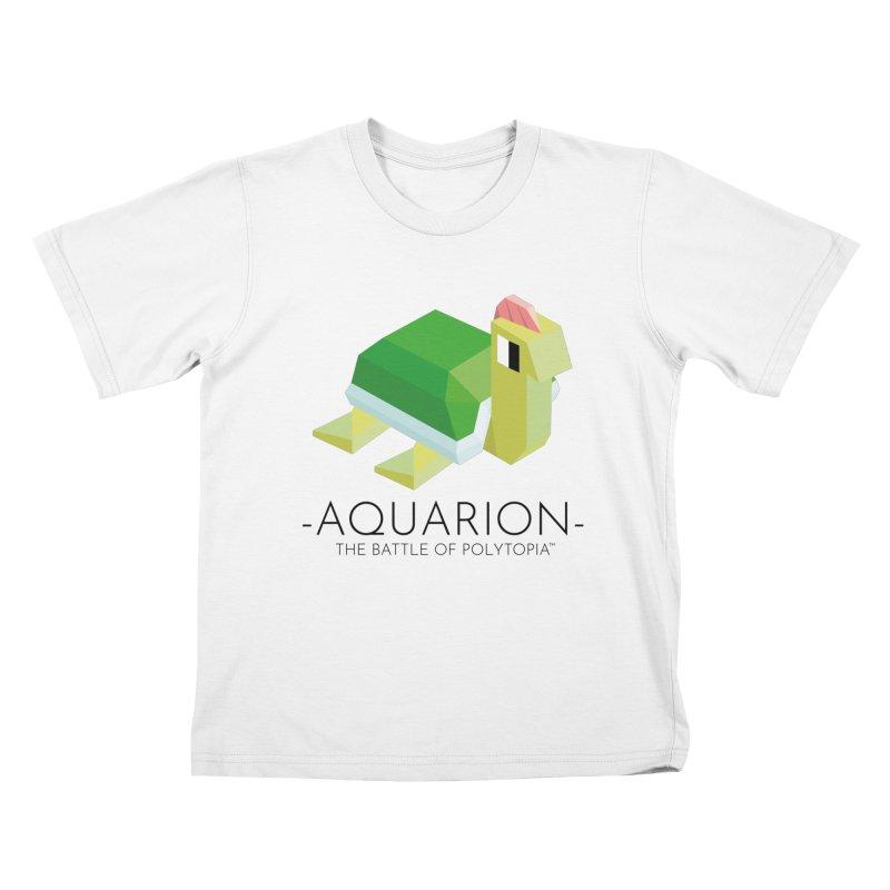 AQUARION TEE Kids T-Shirt by Polytopia shop of souvenirs