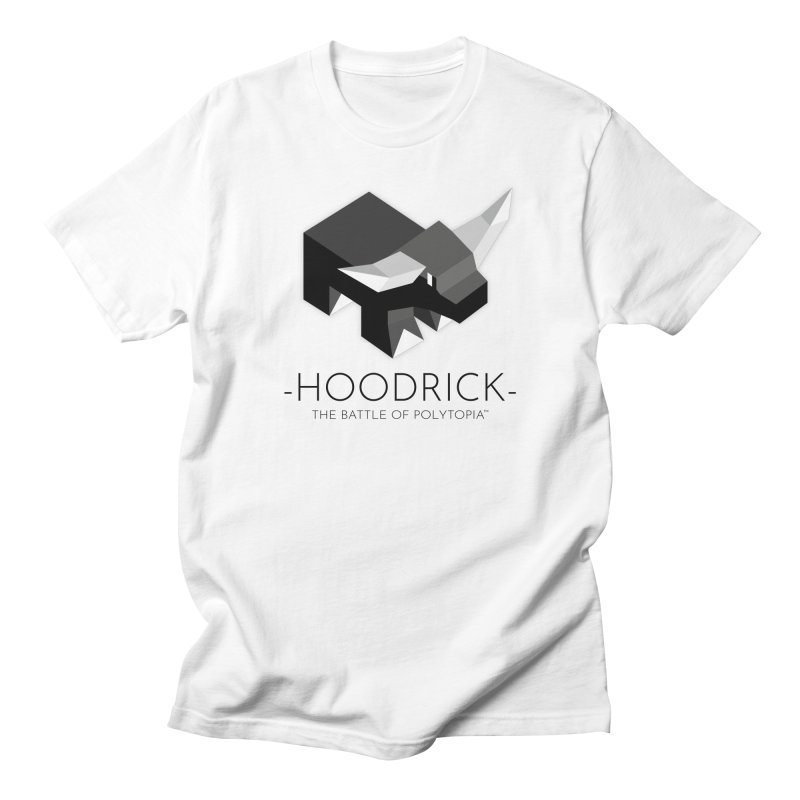HOODRICK TEE in Men's Regular T-Shirt White by Polytopia shop of souvenirs