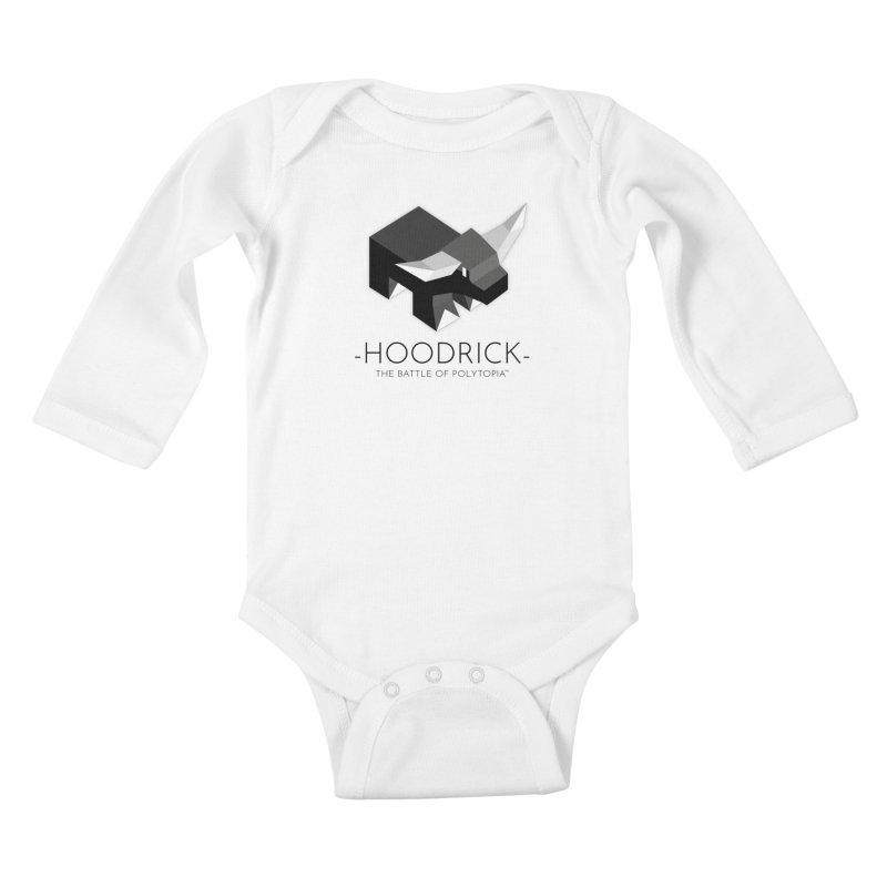 HOODRICK TEE Kids Baby Longsleeve Bodysuit by Polytopia shop of souvenirs