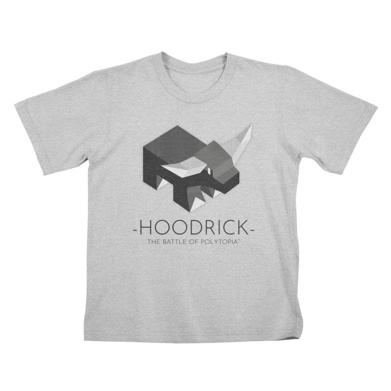 HOODRICK TEE Kids T-Shirt by Polytopia shop of souvenirs