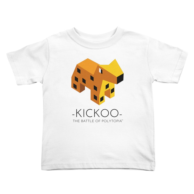 KICKOO TEE Kids Toddler T-Shirt by Polytopia shop of souvenirs