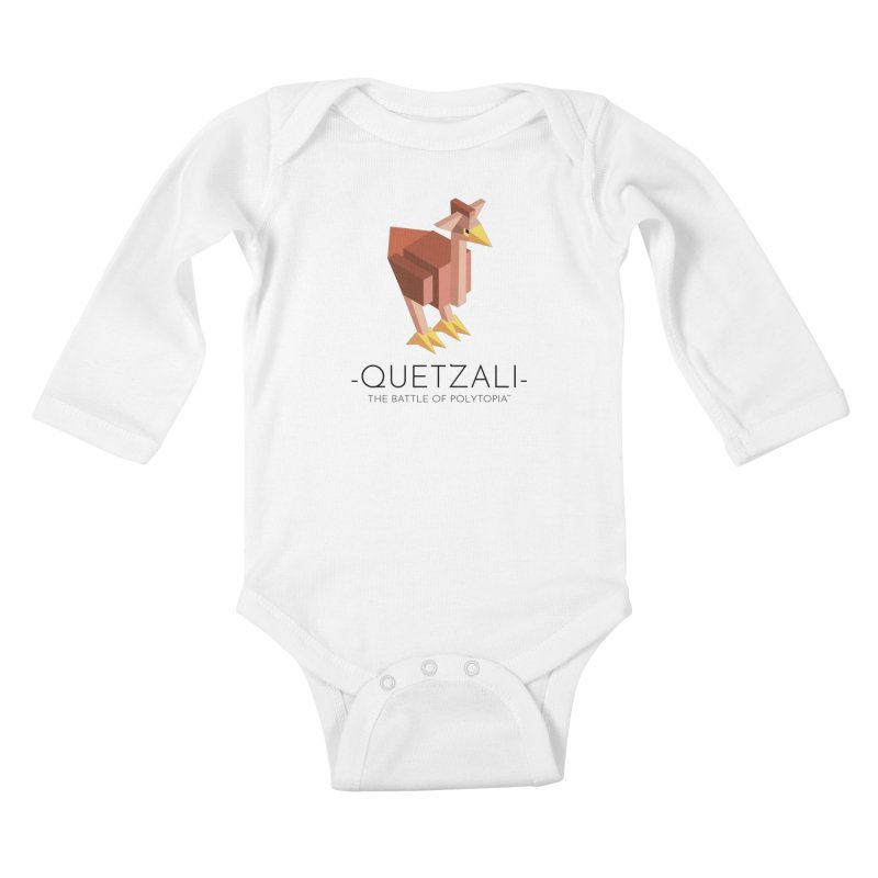QUETZALI TEE Kids Baby Longsleeve Bodysuit by Polytopia shop of souvenirs