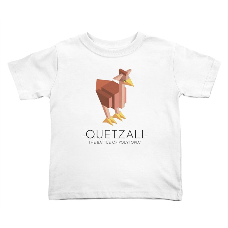 QUETZALI TEE Kids Toddler T-Shirt by Polytopia shop of souvenirs