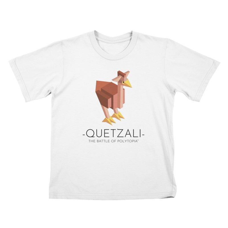 QUETZALI TEE in Kids T-Shirt White by Polytopia shop of souvenirs