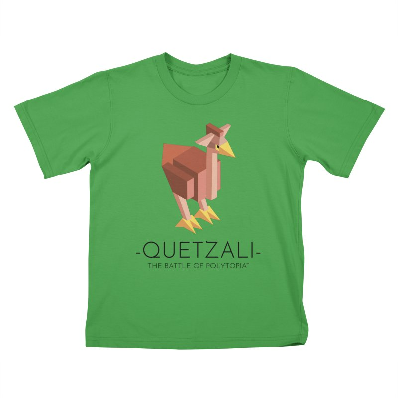QUETZALI TEE in Kids T-Shirt Green by Polytopia shop of souvenirs