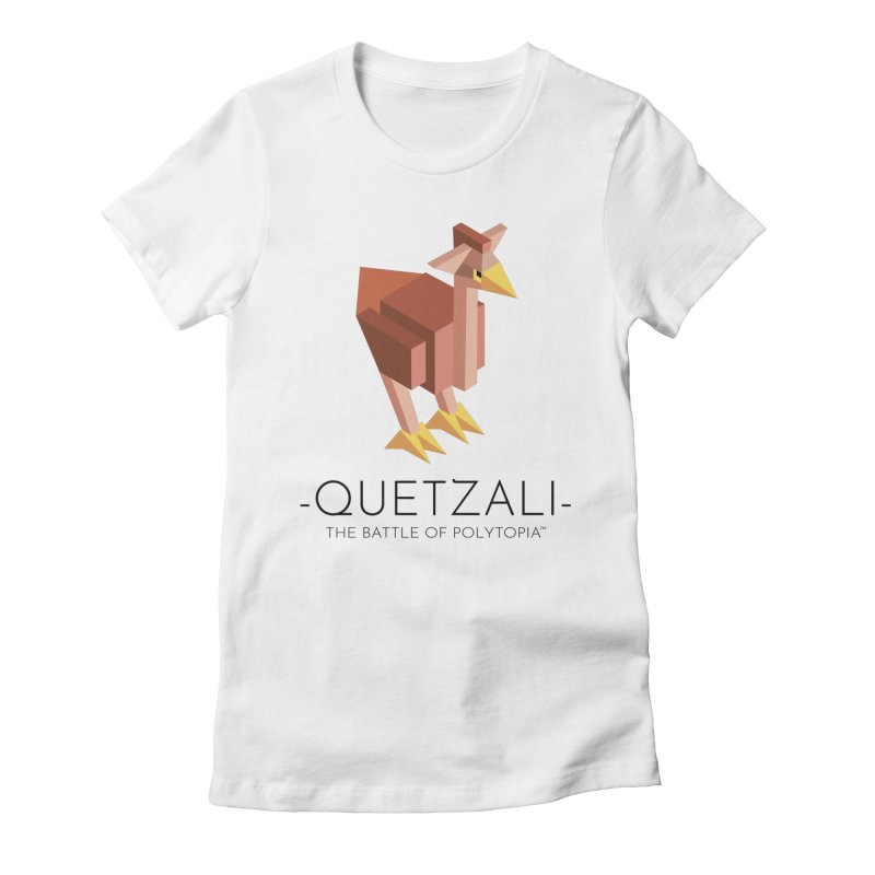 QUETZALI TEE Women's Fitted T-Shirt by Polytopia shop of souvenirs
